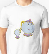 Mrs. Potts and Chip Unisex T-Shirt
