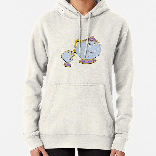 Mrs. Potts and Chip Pullover Hoodie