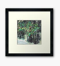 Tranquil Mountain Framed Print