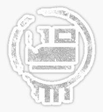 Grunge Face Sticker