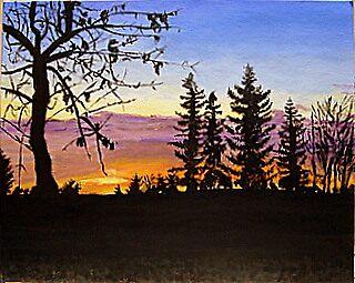 Alberta Chinook Sunrise by pattymaryclare
