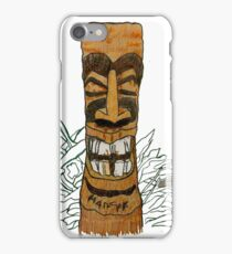 Jester Tiki ti1 iPhone Case/Skin