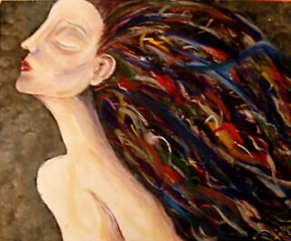 expressionist womanchild by pattymaryclare