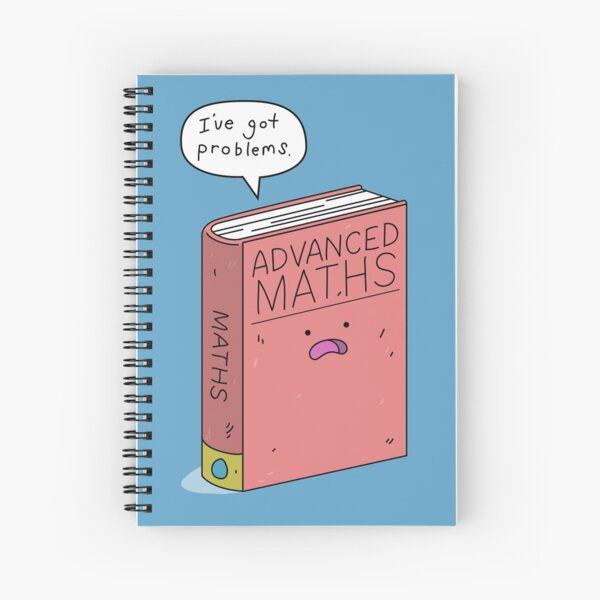 Maths Problems Spiral Notebook