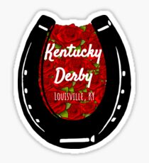 Kentucky Derby Sticker