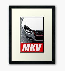 VW Golf MKV Golf 5 GTI Framed Print