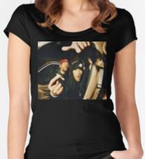 METHOD MAN x REDMAN Women's Fitted Scoop T-Shirt