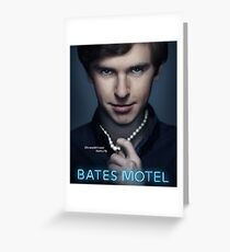 Bates Motel - Norman Bates Greeting Card