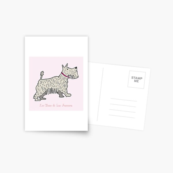 Dogs of San Francisco #1 Postcard