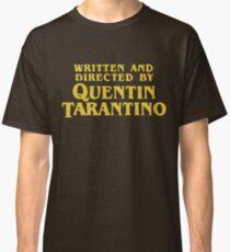 Camiseta clásica Quentin Tarantino