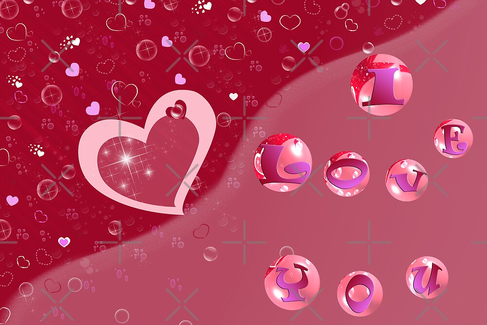 Bubble Love by Maria Dryfhout