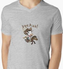 cow-boy Men's V-Neck T-Shirt
