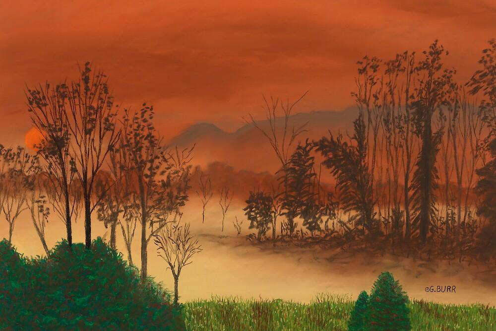Misty Dawn by GeorgeBurr