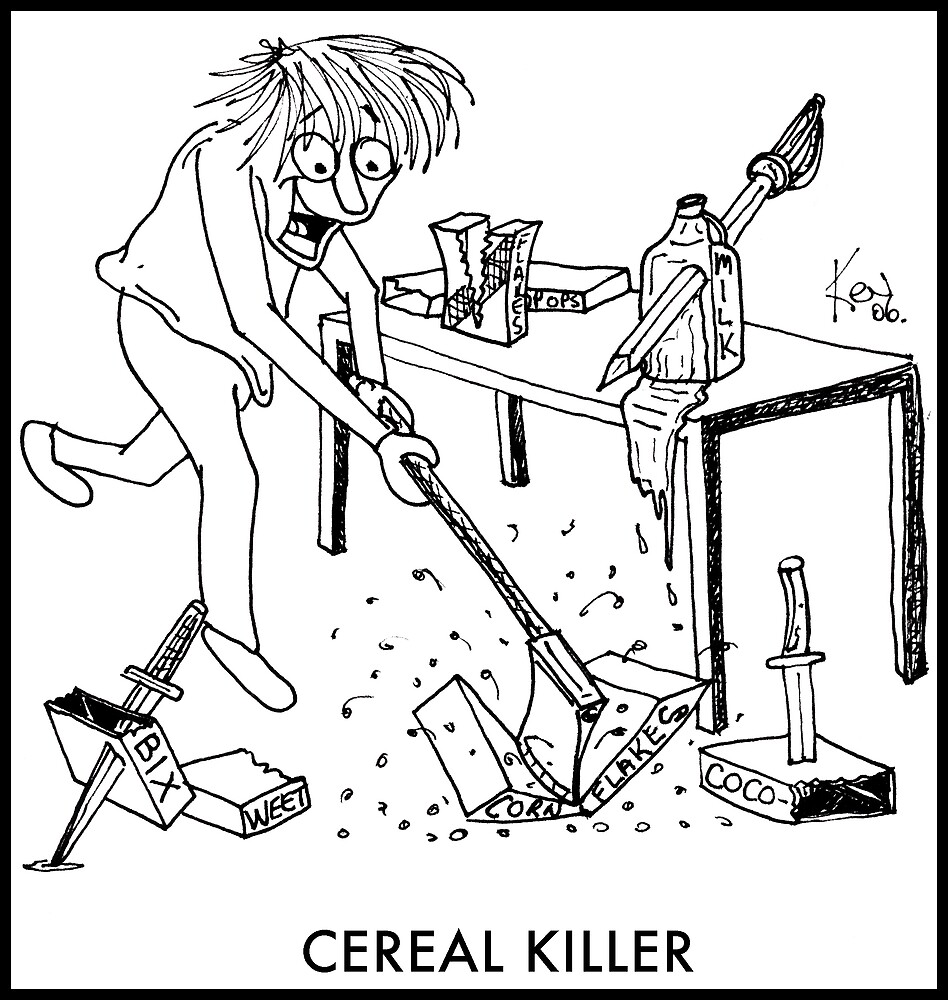 cereal killer by kev howlett