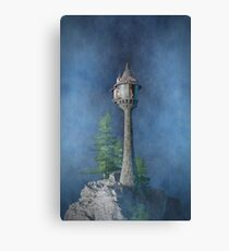 Fairy Tale Tower - Realistic Canvas Print