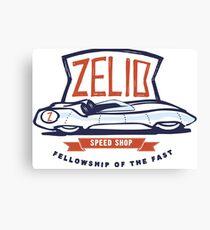 Zelio Lotus XI Canvas Print