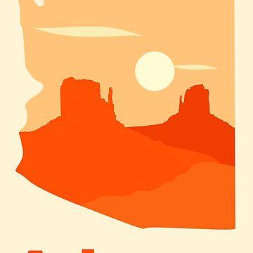 Simply Arizona by claycerny