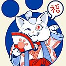 Lucky cat by juanotron