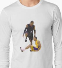 Allen Iverson Steps Over Tyronn Lue Low Poly T-Shirt