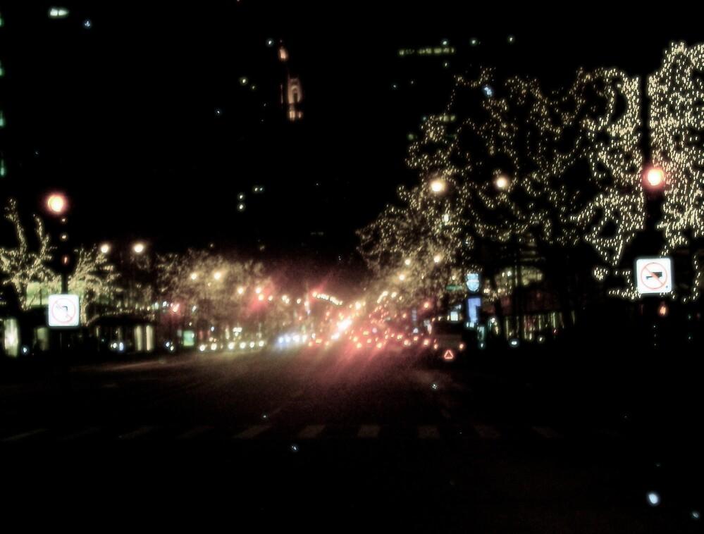 City Glare by Emily Allison