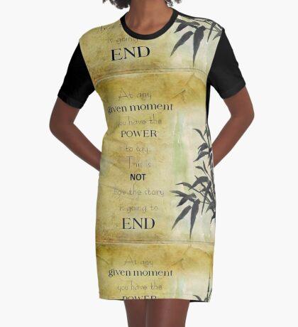 Zu jedem Zeitpunkt... T-Shirt Kleid