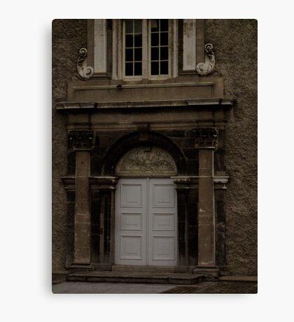 Irish Doorway Canvas Print