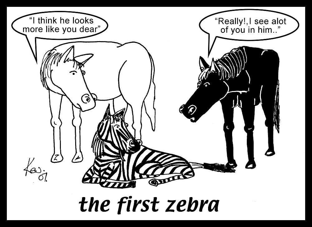 the first zebra by kev howlett