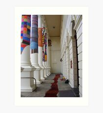 Cosy Columns 18 Art Print