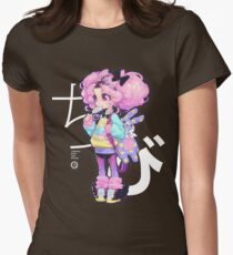 Chibi Tailliertes T-Shirt für Frauen