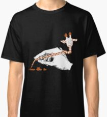 Giraffe and Pencil Classic T-Shirt