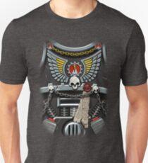 Armour Skull, Wings & Lightning Unisex T-Shirt