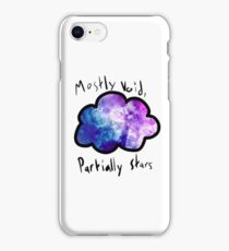 Mostly Void, Partially Stars iPhone Case/Skin
