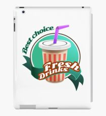 Fresh Drink iPad Case/Skin