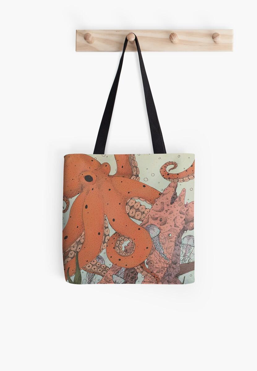 Tote Bag - Octopus by VIDA VIDA