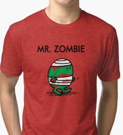 MR. ZOMBIE Tri-blend T-Shirt