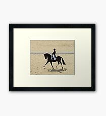 Dressage II Framed Print