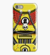 Yellow Armour with Skulls, Chains & Gauntlet iPhone Case/Skin