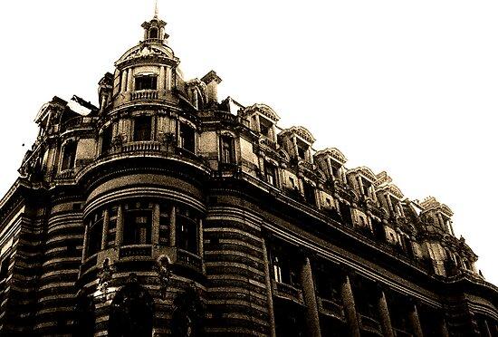 City Building Buenos Aries by Juilee  Pryor
