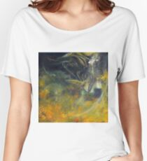 Saving My Heart, 100-100cm, 2017, oil on canvas Women's Relaxed Fit T-Shirt