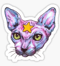 Star Cat Sticker
