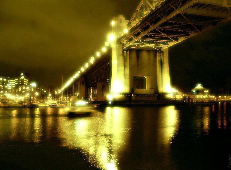 Burrard Bridge by John Heil
