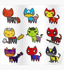 CAT AVENGERS  Poster
