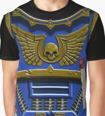 Cool Blue Marine Armour Graphic T-Shirt