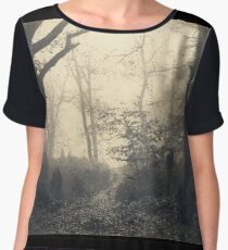 Cuvelier's Forest of Fontainebleau Chiffon Top