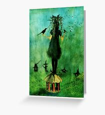 The Birds Cage Greeting Card
