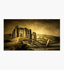 Kidwelly Castle, Carmarthenshire, Wales 1803 Photographic Print