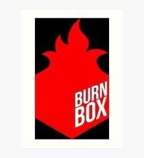 burn box Art Print