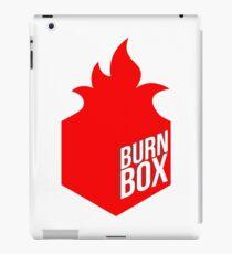 burn box iPad Case/Skin