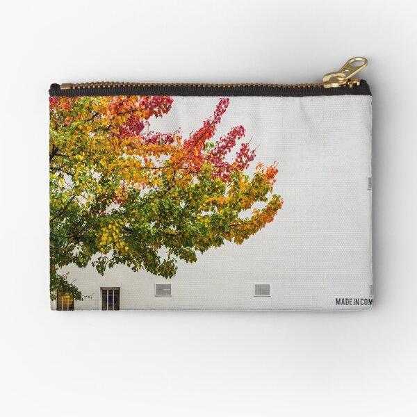Autumn Wall Zipper Pouch