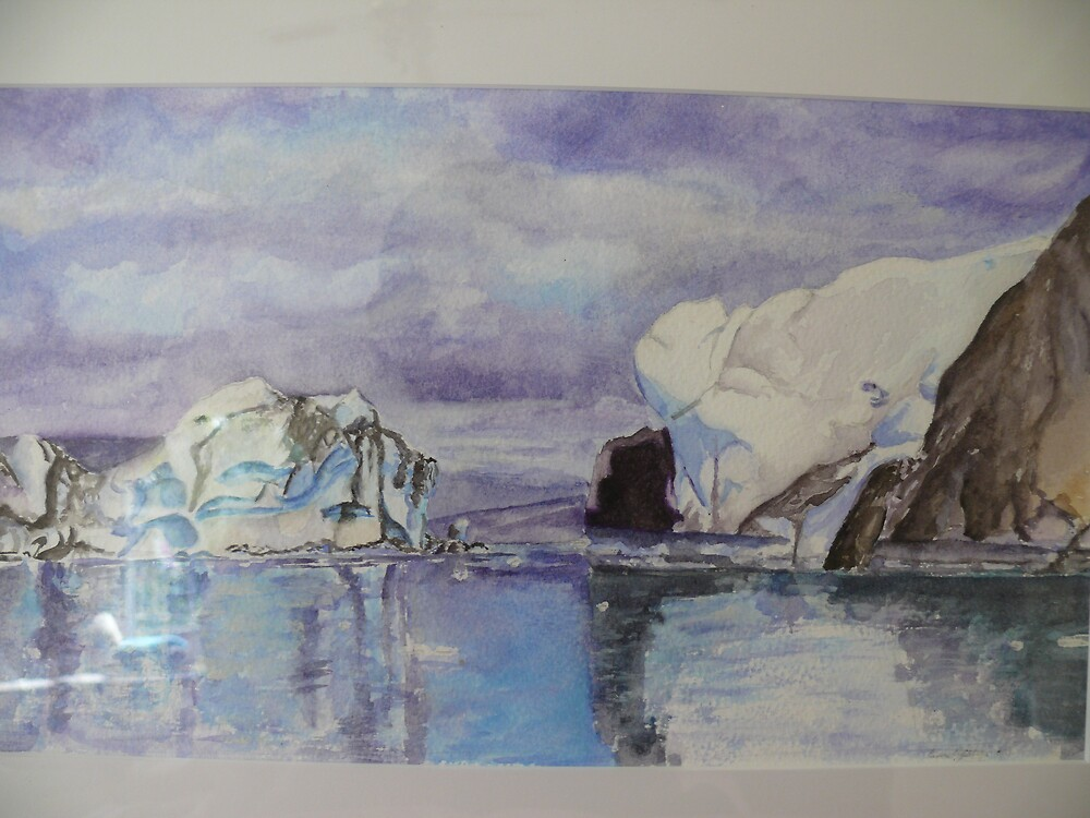 Alaska in watercolour by timmotholden